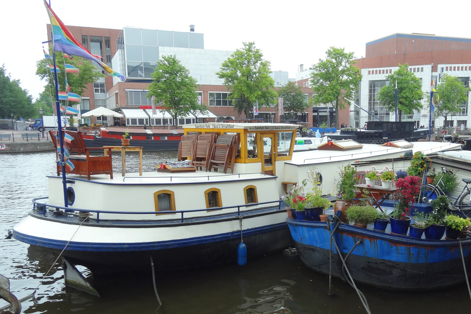 Kapitein rob bed and breakfast amsterdam for Amsterdam b b centro
